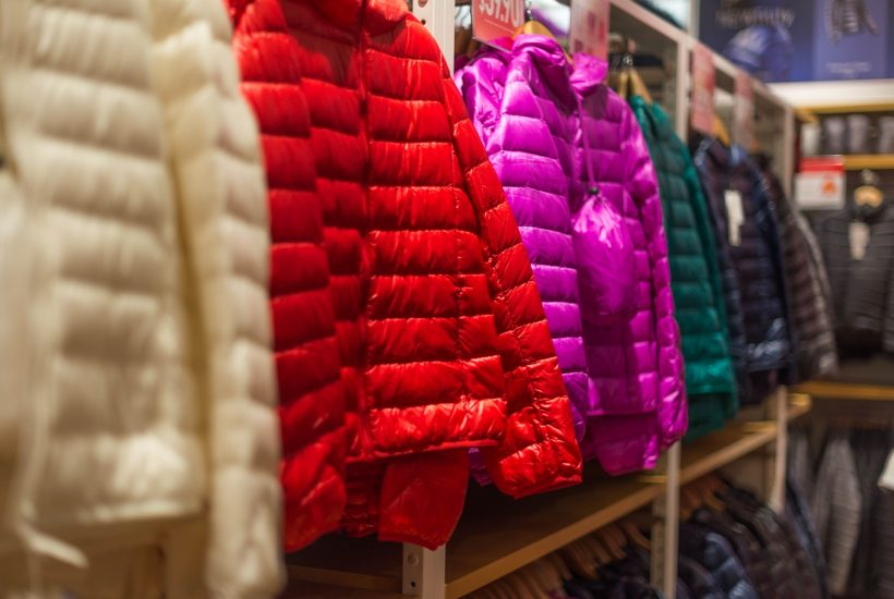 rainbow color of down jackets 5 dog farm
