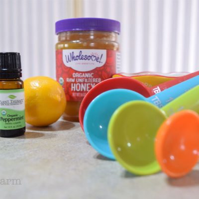 ingredients for lip scrub