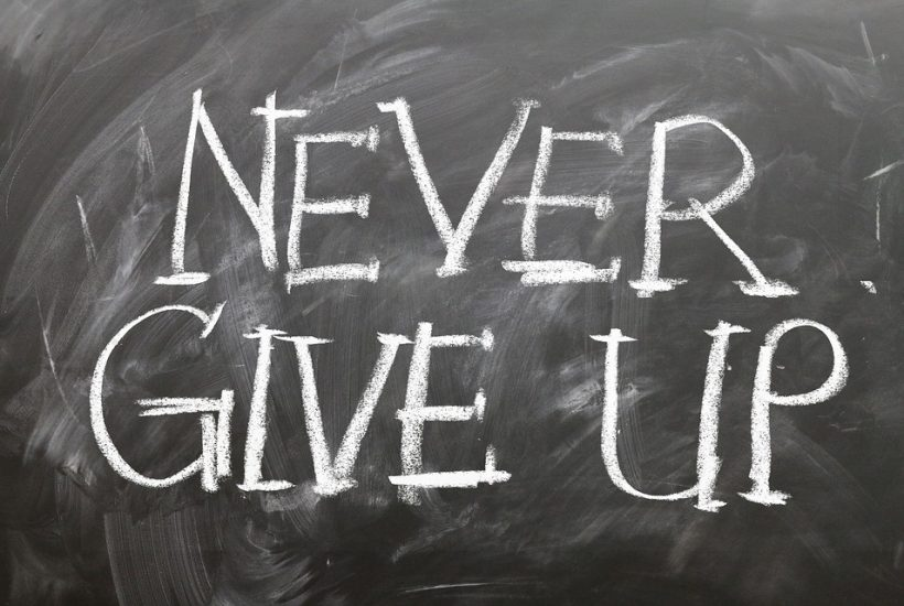 never give up on chalkboard
