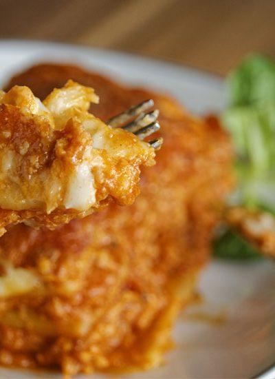 Super Quick Instant Pot Lasagna