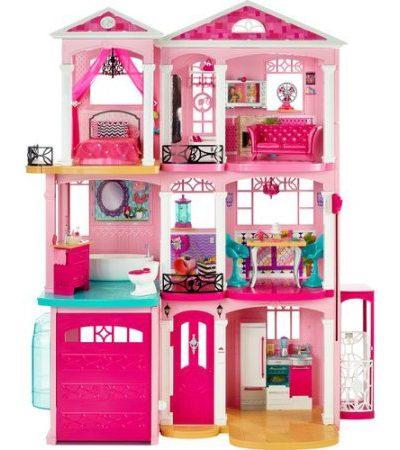 3 story barbie dream house 5 dog farm