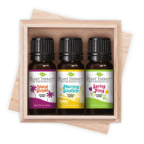 boxed set of essential oils