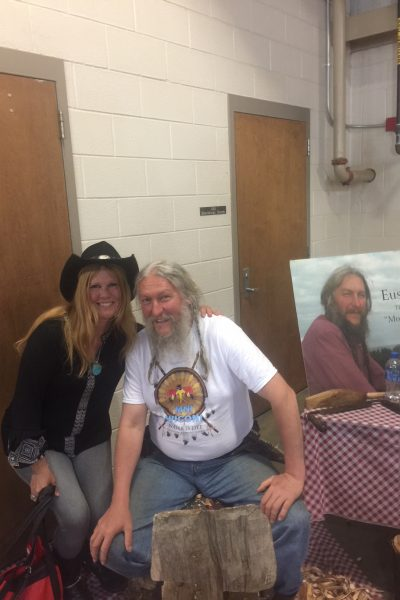 NikiDee with Eustace Conway 5 Dog Farm