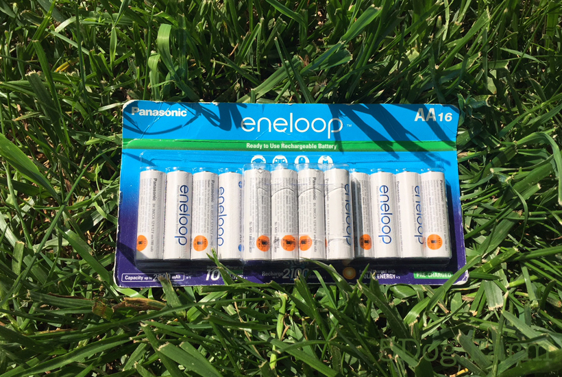 large package of enveloop batteries 5 dog farm