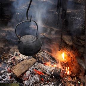 cast iron kettle from turtle island preserve 5 dog farm