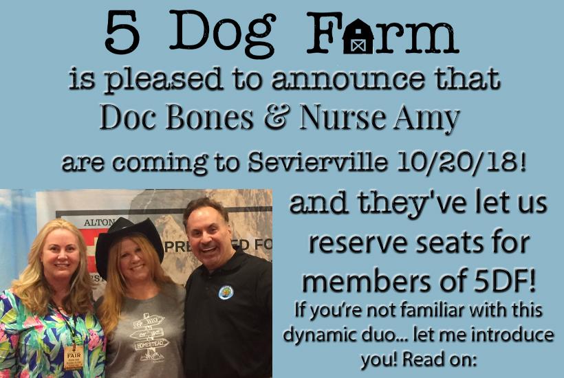doc bones and nurse amy class 5 dog farm