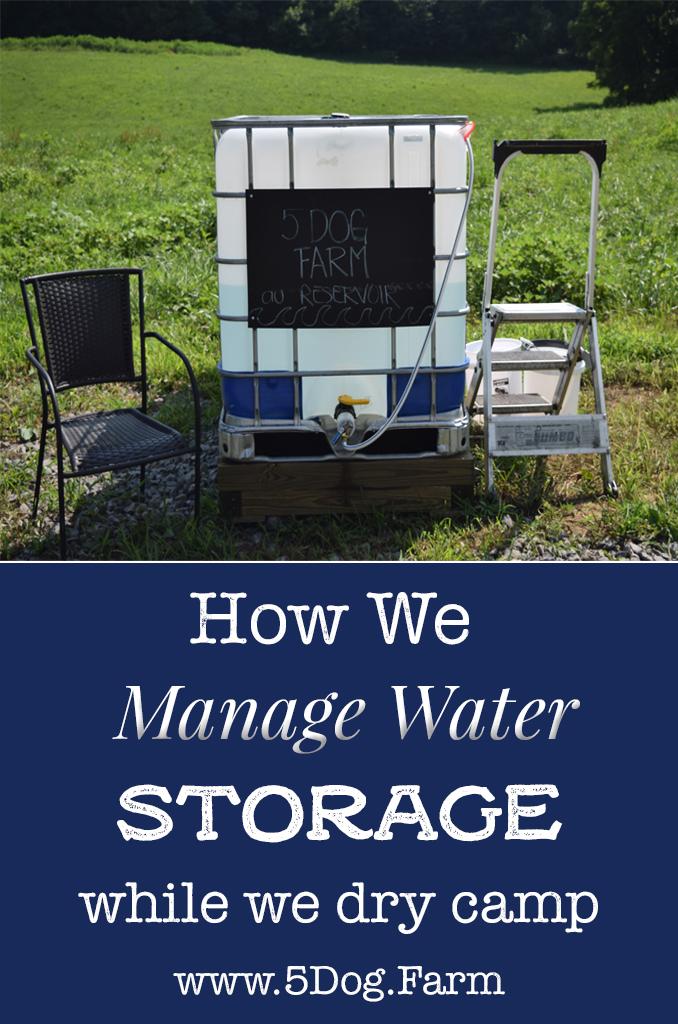 Pinterest water storage 5 dog farm