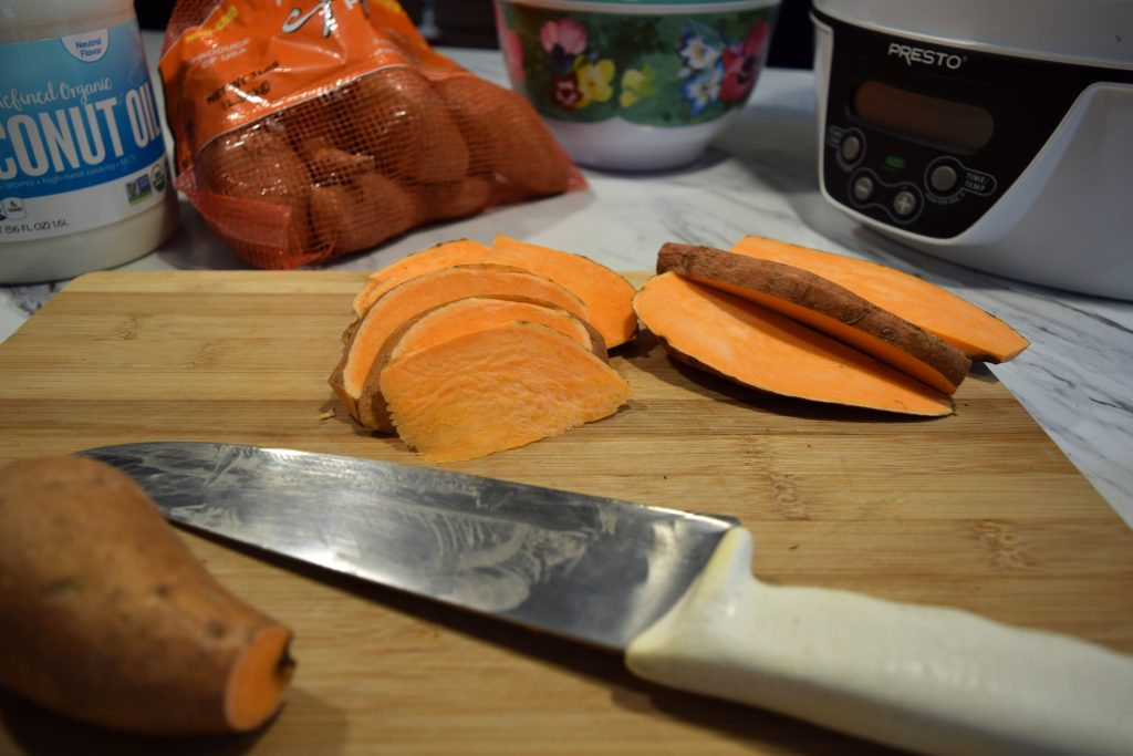 sliced sweet potatoes 5 dog farm