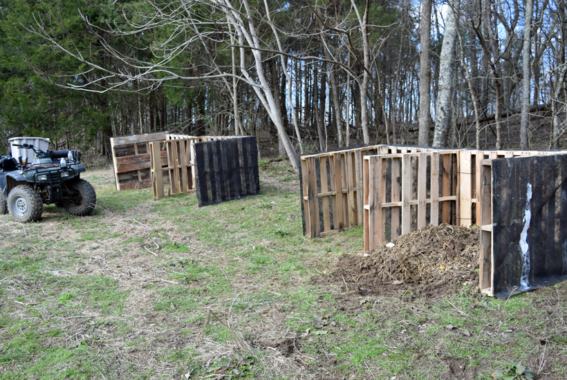 2 finished composters 5DogFarm