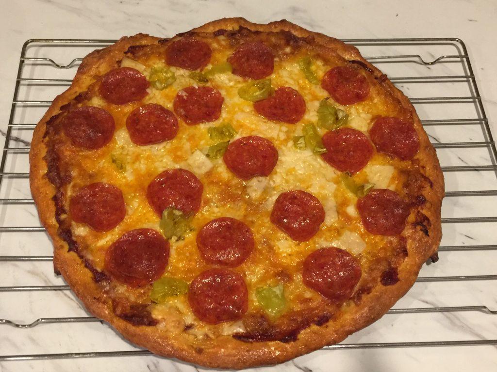 Homemade pepperoni pizza 5DogFarm