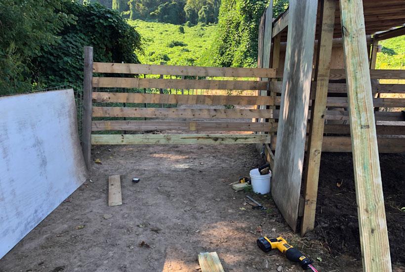 side wall built 5 Dog Farm