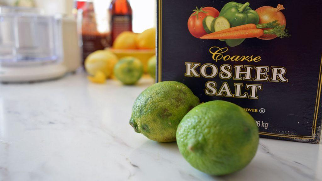Salt lime ingredients for flavored salt 5DogFarm
