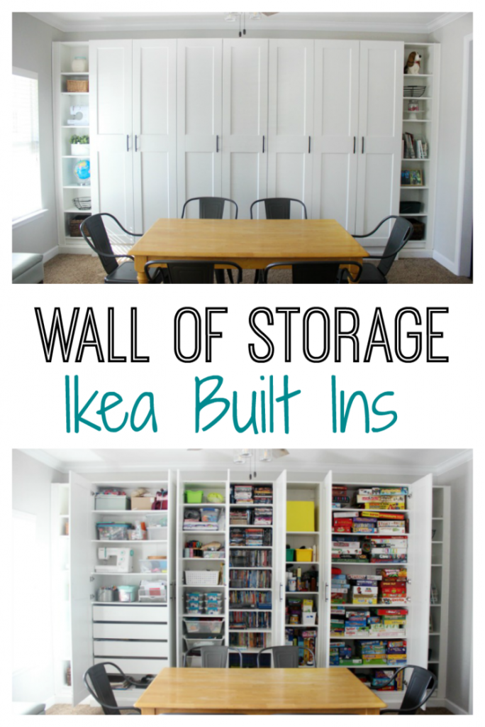 Ikea Built Ins Wall Of Storage