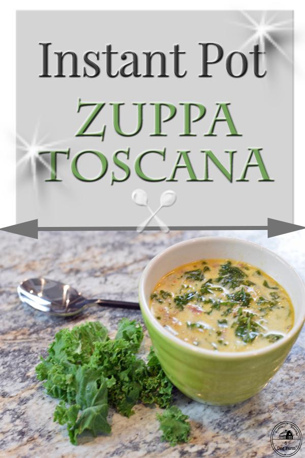 How To Make Instant Pot Zuppa Toscana - 5DogFarm