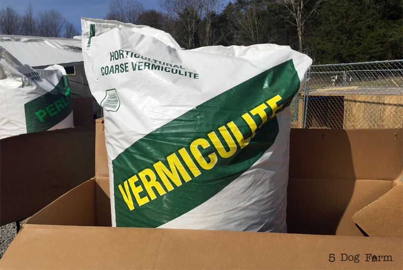 big bag of vermiculite